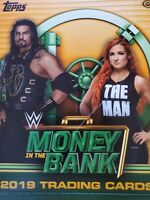 2019 Topps WWE Money in the Bank Greatest Matches and Moments - Select Your Card