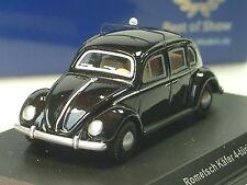BOS Rometsch VW Käfer TAXI, schwarz - 87050 - 1/87