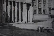 Albert Decaris (1901-1988) - Basilique Saint Pierre - Rome - Encre de chine