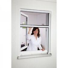Moustiquaire enroulable aluminium pour fenêtre - 100 x 160 cm - Blanc