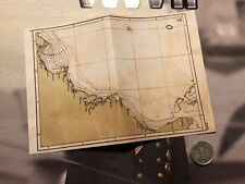 Kings Toys WWII German U-Boat capitaine Map loose 1/6th scale