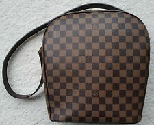 Louis Vuitton Ipanema GM large damier ebene authentic leather bag purse EUC LV