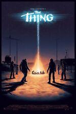 The Thing Silk Screen Poster Print by Artist Matt Ferguson Edition 275