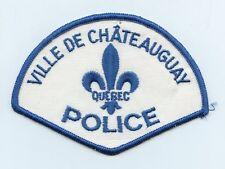Ville de Chateauguay Police, Quebec, Canada HTF Vintage Uniform/Shoulder Patch