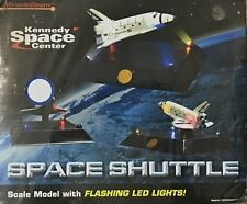 MiracleBeam Kennedy Space Center Space Shuttle Scale Model with Flashing LED's