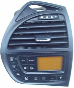 Citroen C4 Heater Vent Control Panel Digital 9659627677