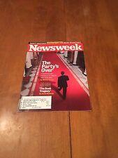 Newsweek Magazine The Party's Over January 28 2008 GOP Post-Bush Era