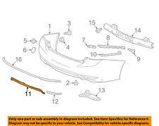 HONDA OEM 16-17 Accord Rear Bumper-Lower Trim Panel 71502T2FA50