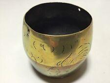 Chinese Brass Pot Vintage
