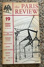 The Paris Review - #19 - Summer 1958