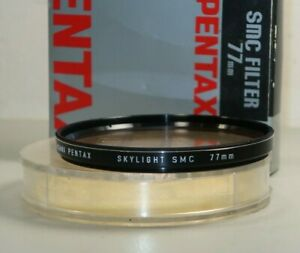 Pentax SMC 77MM Skylight Lens Filter for SLR Camera Vintage Stock *VERY GOOD*