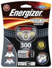 Linternas linteras de cabeza de color principal blanco LED para acampada y senderismo