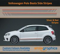 VW Polo Beats Stripe Kit Stickers decals - Other colours available