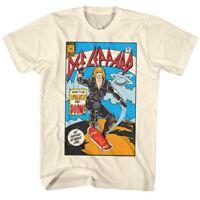 OFFICIAL Def Leppard Women of Doom Comic Book Men's T Shirt