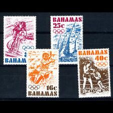 BAHAMAS 1976 Olympics. Sport. SG 478-481. Mint Never Hinged. (AM460)