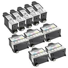 10 #10xl 10xl BLACK & Color Printer Ink Cartridge for Kodak Hero 6.1 7.1 9.1