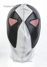 Grey Deadpool Spandex Mask mexican wrestling fancy dress Halloween Adult Child