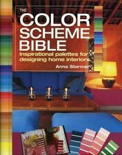 THE COLOR SCHEME BIBLE - STARMER, ANNA - NEW PAPERBACK BOOK