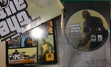 Grand Theft Auto: San Andreas  (PC, 2005) Sleve, Book , Poster, Disc , Selection