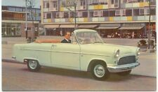 Ford Consul Mk 2 Convertible  Original  Postcard D 8108/957