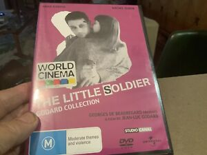 JEAN-LUC GODARD FILM THE LITTLE SOLDIER DVD NEW SEALED RARE