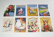 Lot de 8 Carte Postale Reproduction Affiche Publicitaire Ancienne Pub g