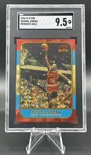1996-97 Fleer Michael Jordan Prismatic Gold Refractor SGC 9.5 Mint+ Bulls