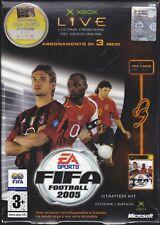 Xbox FIFA FOOTBALL 2005 ~ STARTER KIT HEADSET ~ LIMITED EDITION italiano nuovo