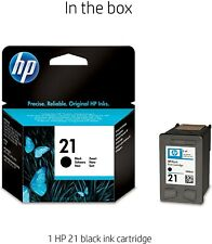 GENUINE HP 21 C9351AN Ink Cartridge - Black Expired FEB 2021