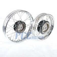 PW80 PY80 FRONT REAR RIM WHEEL SET FOR YAMAHA COYOTE 80 PW PY 80 V RM24+RM25
