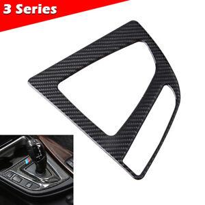 Carbon Fiber Center Console Interior Trim Decor Cover For BMW 3 4 Series F30 F34