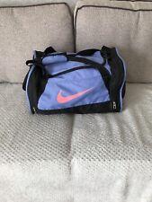 Nike Sports Bag Black Purple Pink