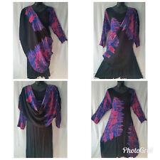 Women Clothing Majic Dress convertible Maxi African Free Size Plus Black Purple