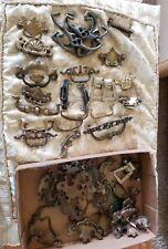 Lot of Antique Vintage Metal Furniture Hardware Drawer Pulls Handles #2 I6F