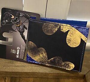 New DC Comics Batman Bifold  Wallet Faux Leather Man Woman Gift