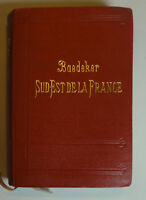 Baedeker Sud- Est de la France 1910 (U.)