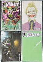 THE JOKER #1 COVERS A B C D  BATMAN DC COMICS  2021 LOT SET OF 4 - IN STOCK!