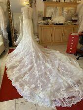 Pronovias st. patrick style miriam vestido de novia nuevo talla 38 Ivory punta VK 2100 €