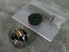 IBANEZ STRAP BUTTON COSMO BLACK RG RGA RGT S JS1000 JEM GUITAR OR BASS PART