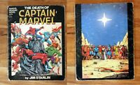 Comic Book: The Death of Captain Marvel (1982) Marvel Graphic Novel: 5th Edition