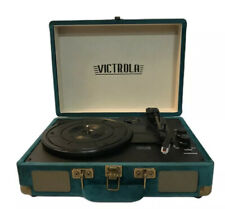 Victrola Bluetooth Record Player Portable Suitcase Turntable with Speakers RARE