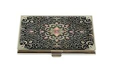 Mother Of Pearl Id Card Holder Name Credit Card Box Nacre Business Card Case