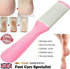 Foot Rasp File Pedicure Callus Remover Hard Dead Skin Scrubber Pink Care Tool