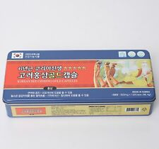 6-Year Old Korean Red Ginseng  Gold Extract Capsule 820mg 120 Made in Korea
