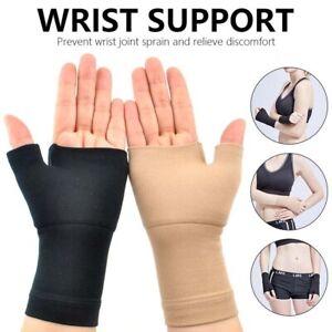 Golfer Compression Wrist Thumb Band Belt Carpal Tunnel Hands Wrist Support-Brace