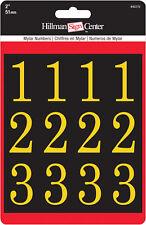 "Hillman 842270, 2"" Gold / Black Numbers Kit (Square Cut)"