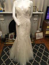 Pronovias Barcelona Wedding Dress Size Uk 14
