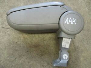 LEDER grau Armlehne Mittelarmlehne AUDI A3 8P ORIGINAL 8P0864207B