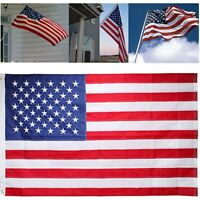 American Flag Patriotic 3'x5' FT USA US U.S United Stripes Stars Brass Grommets
