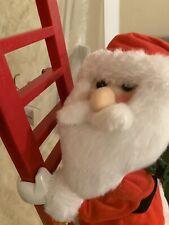 Mr. Christmas Animated Climbing Holiday Character-Santa